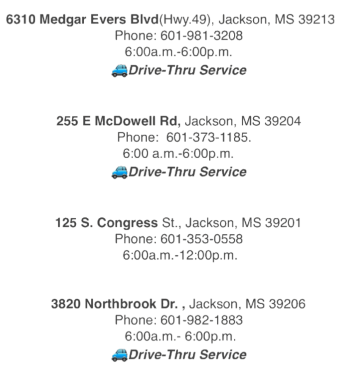 Our four Locations